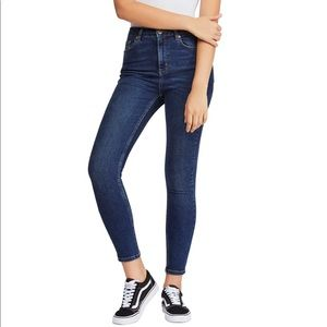 Urban Outfitters Pine High Waist Skinny Jeans BDG